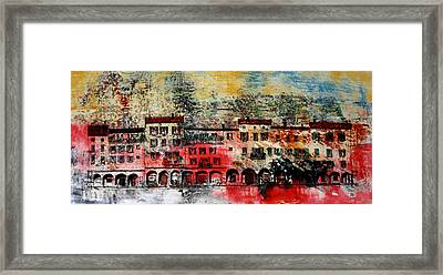 Framed Print featuring the drawing Big Red by William Renzulli