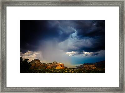 Big River Framed Print by Roger Chenery