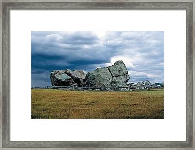 Big Rock 2 Framed Print by Terry Reynoldson