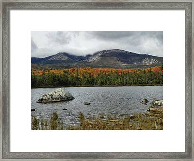 Framed Print featuring the photograph Big Rock by Gene Cyr