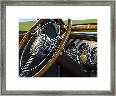 Big As A Buick Framed Print