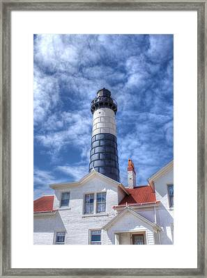 Big Sable Point Framed Print by Bruce Wilbur
