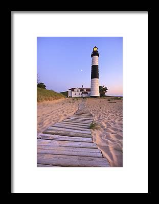 Boardwalk Framed Prints