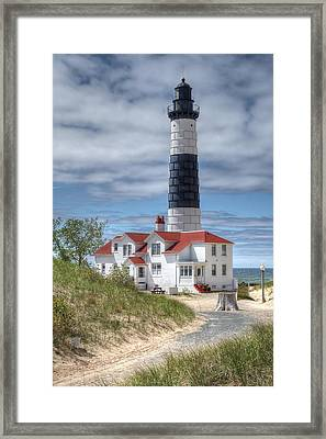 Big Sable Point Lighthouse Framed Print by Bruce Wilbur