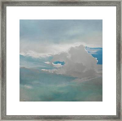 Framed Print featuring the painting Big Sky by Cap Pannell