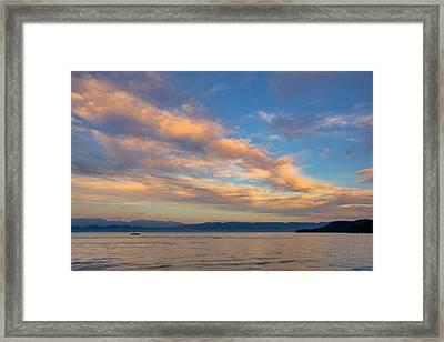 Big Sky Country Framed Print