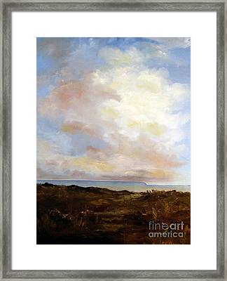 Big Sky Country Framed Print