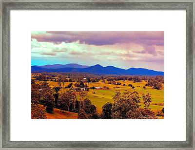 Big Sky Country Framed Print by Wallaroo Images