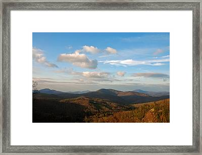 Big Sky In Cashiers Framed Print