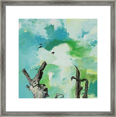 Big Sky Framed Print by Joseph Demaree