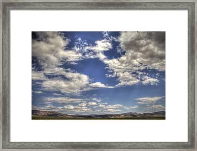 Big Sky Nevada Framed Print