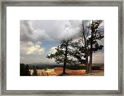 Big Sky Over Bryce Canyon Framed Print by Joseph G Holland