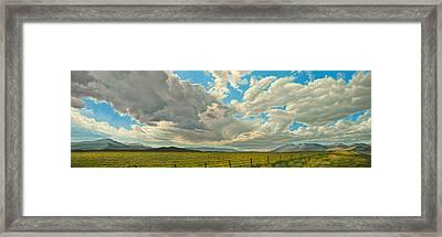 Big Sky Framed Print by Paul Krapf