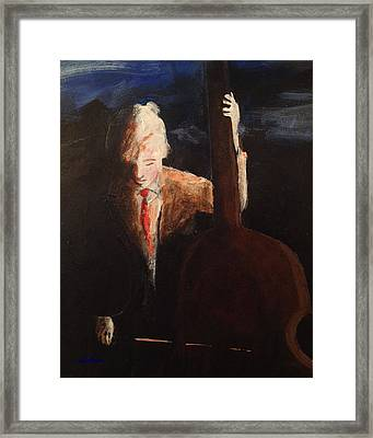 Framed Print featuring the painting Big Sound by John  Svenson