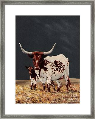 Big Spot And Little Spot Framed Print