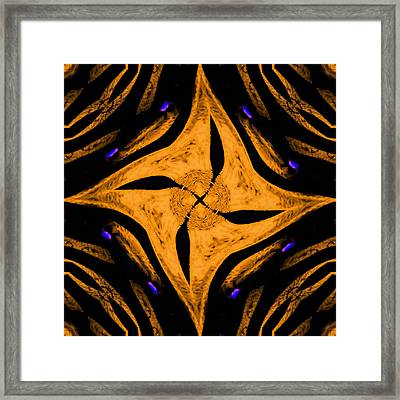 Big Star Nova 1 Framed Print by Marcela Bennett