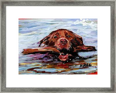Big Stick Framed Print by Molly Poole