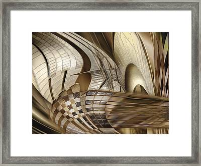 Big Sticks Framed Print