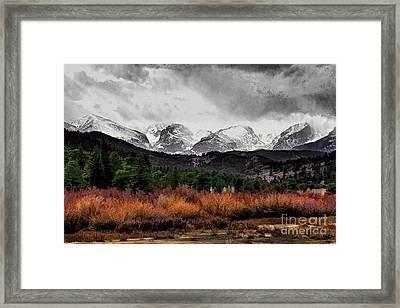 Big Storm Framed Print