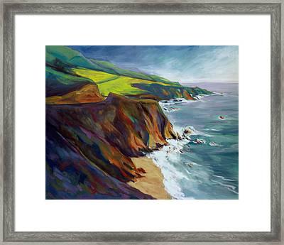 Big Sur 1 Framed Print
