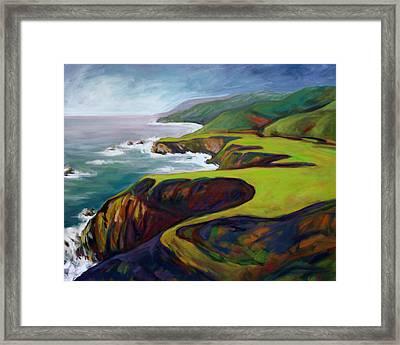 Big Sur California 2 Framed Print by Konnie Kim