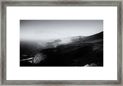 Big Sur 4 Framed Print