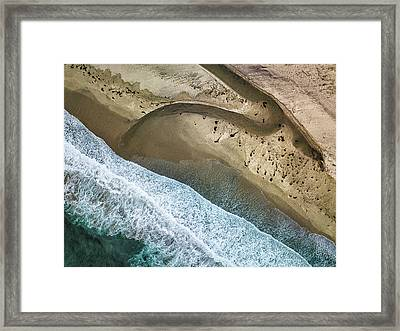 Big Sur Aerial Framed Print