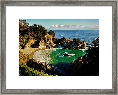 Big Sur Framed Print by Benjamin Yeager