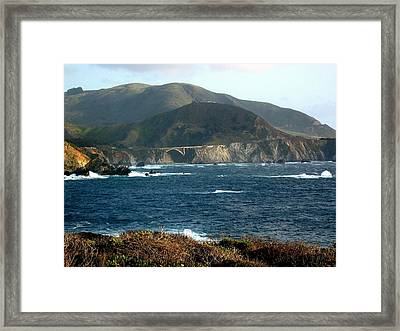 Big Sur Bridge Framed Print