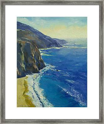 Big Sur California Framed Print by Michael Creese