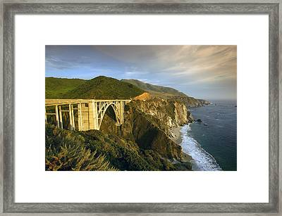 Big Sur Framed Print by Christian Heeb