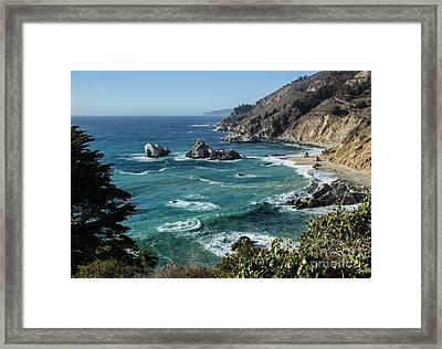 Big Sur Coast From Julia Pfeiffer Burns Framed Print