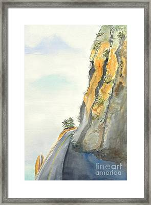 Big Sur Highway One Framed Print by Susan Lee Clark