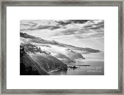 Big Sur Framed Print by Jennifer Magallon