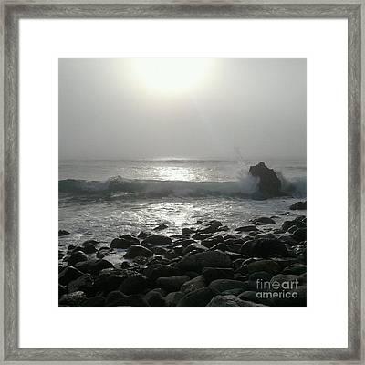 Big Sur. Framed Print by Justin Moranville