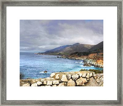Big Sur Framed Print by Kandy Hurley