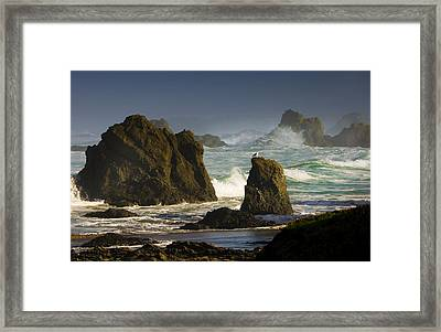 Big Sur Kind Of Morning Framed Print