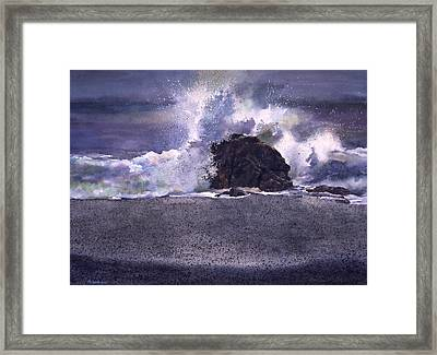 Big Sur Revisited Framed Print by Tom Wooldridge