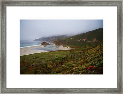 Framed Print featuring the photograph Big Sur by Tom Kelly