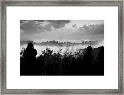 Big Swell Framed Print by Sean Davey