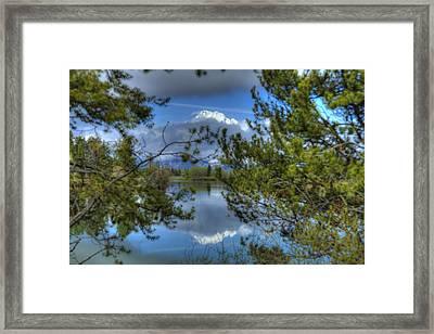 Big Teton Framed Print