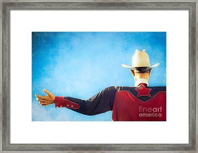 Big Tex Lives On Framed Print by Sonja Quintero
