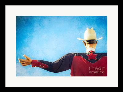 Western Shirt Framed Prints