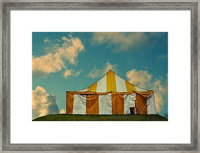 Big Top Framed Print by Laura Fasulo