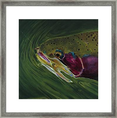 Big Trout II Framed Print