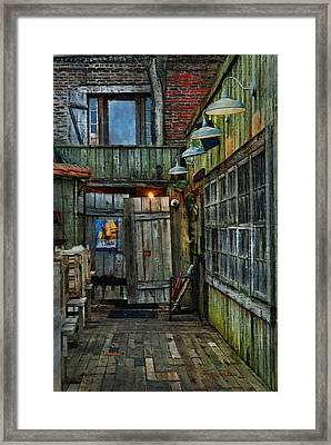 Big Tuna Morning Framed Print