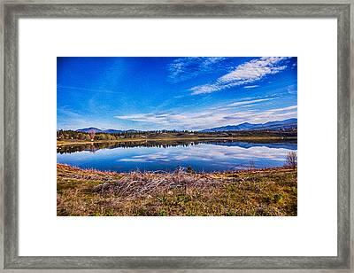 Big Twin Lake Framed Print