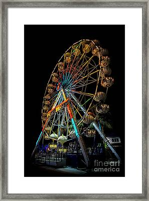 Big Wheel Framed Print by Adrian Evans