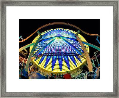 Big Wheel Keep On Turning Framed Print by Mark Miller