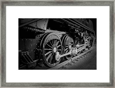 Big Wheels Framed Print by Herbert Seiffert